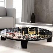 TAF DECOR Pop City 8 Coffee Table; 44'' (Diameter)