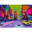 TAF DECOR Vibrant City 1 Art-for-You Graphic Art on Wrapped Canvas