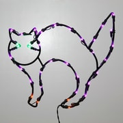 Vickerman 35Lt Fall Decor 35Lt LED Cat Window D cor
