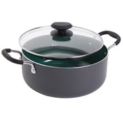 Gibson Home 5-qt. Ceramic Round Dutch Oven w/ Lid