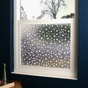 Odhams Press Star Struck Privacy Window Film; 36'' x 48''
