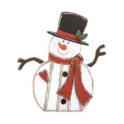 Woodland Imports Christmas Decor Snowman