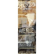 TAF DECOR NY Ave 3 Graphic Art on Wrapped Canvas
