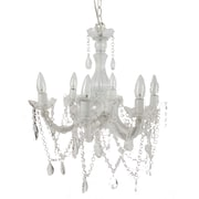A&B Home Group, Inc 6 Light Crystal Chandelier