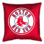 Sports Coverage MLB Boston Red Sox Sidelines Throw Pillow