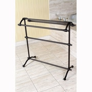 Kingston Brass Edenscape Free Standing Towel Rack; Oil Rubbed Bronze