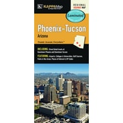 Universal Map Phoenix/Tucson Arizona Laminated Map