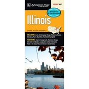 Universal Map Illinois Waterproof Map