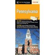 Universal Map Pennsylvania Fold Map