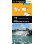 Universal Map New York Large Print Fold Map