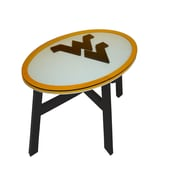 Fan Creations NCAA End Table; University of West Virginia