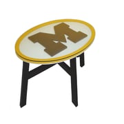 Fan Creations NCAA End Table; University of Michigan
