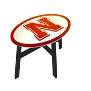 Fan Creations NCAA End Table; University of Nebraska