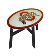 Fan Creations NCAA End Table; Ohio State University