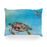 KESS InHouse Home Sweet Home Outdoor Throw Pillow; 14'' H x 20'' W x 3'' D