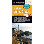 Universal Map United States Eastern Waterproof Map