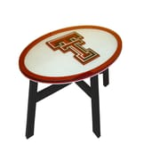 Fan Creations NCAA End Table; Texas Tech University