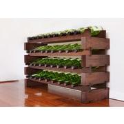 Vinotemp 36 Bottle Wine Rack; Stained