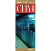 Universal Map New York City Transit City Streets Laminated Map