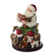DEMDACO Simple Joys Toy Maker Santa Figurine