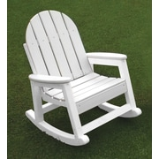 Eagle One Kids Alexandria Rocking Chair; White