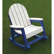 Eagle One Kids Alexandria Rocking Chair; Blue