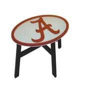 Fan Creations NCAA End Table; University of Alabama