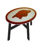 Fan Creations NCAA End Table; University of Arkansas