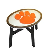 Fan Creations NCAA End Table; Clemson University