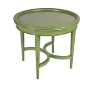 Ultimate Accents Costal End Table; Green