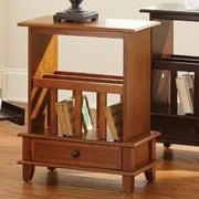 Brady Furniture Industries Mongo End Table; Oak