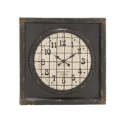 Woodland Imports Grand, Cool and Matchless Metal Wall Clock