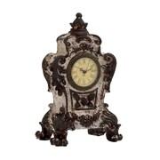 Woodland Imports Designed Ceramic Table Clock; Grey