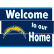 Fan Creations NFL Distressed Welcome to Our Home Graphic Art Plaque; San Diego Chargers