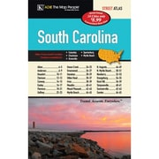 Universal Map South Carolina Cities and Towns Atlas