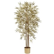 Nearly Natural 5395 Golden Bamboo Tree 5-Feet Golden