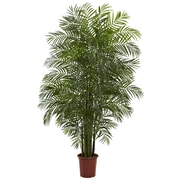 Nearly Natural 5435 Areca Palm Tree UV Resistant 7.5 Feet Green