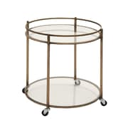 Woodland Imports Simply Artistic Bar Cart