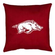 Sports Coverage NCAA Arkansas Throw Pillow