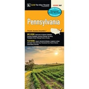 Universal Map Pennsylvania Laminated Map