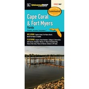 Universal Map Cape Coral/Fort Myers Florida Laminated Map