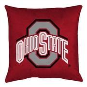 Sports Coverage NCAA Ohio State Throw Pillow