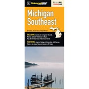 Universal Map Michigan Southeast Regional Fold Map