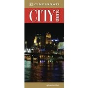 Universal Map Cincinnati City Streets Laminated Map