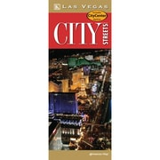 Universal Map Las Vegas City Streets Laminated Map