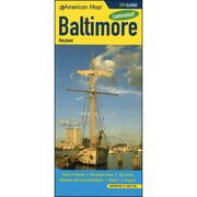 Universal Map Baltimore City Map Laminated Map