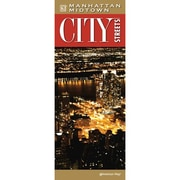 Universal Map Manhattan Midtown City Streets Laminated Map