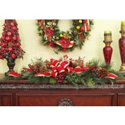 Floral Home Decor Berry and Grape Christmas Swag