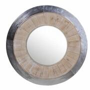 Privilege Round Aluminum Mirror