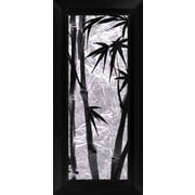 PTM Images Bamboo II Framed Graphic Art